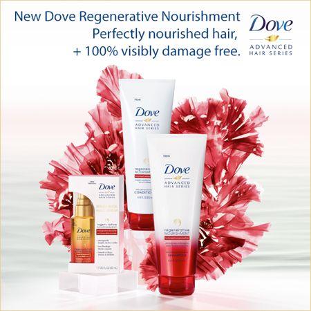 NEW! ..................... Review, Ingredients: Dove® Regenerative Nourishment Shampoo, Conditioner