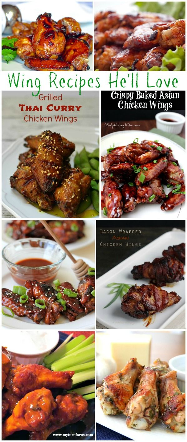 Wing Recipes He's Sure To Love - Moms & Munchkins