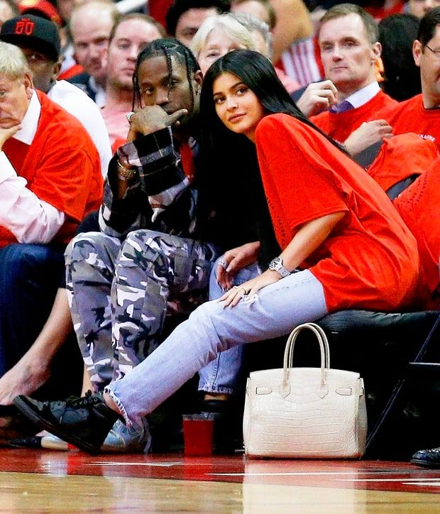 Kylie Jenner may have moved on from Tyga. The 19-year-old reality star was spotted looking flirty with Travis Scott at an NBA playoff game in his hometown of Houston, Texas, on Tuesday, April 25. Kylie Jenner's Best Selfies, Ranked The rapper, 24, performed before tip-off, and then the duo sat courtside to watch the Houston …