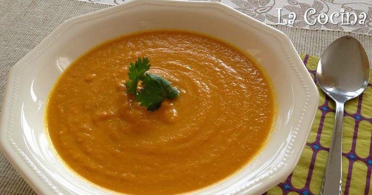 Twittear Esta es una sopa con una textura densa pero al mismo tiempo suave y muy cremosa. Tiene un sabor exótico que c...