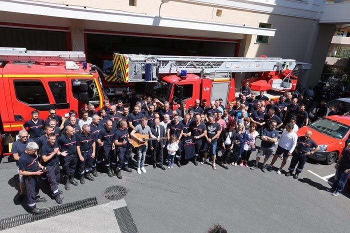 Live your life pour le bal gala des pompiers de Nice