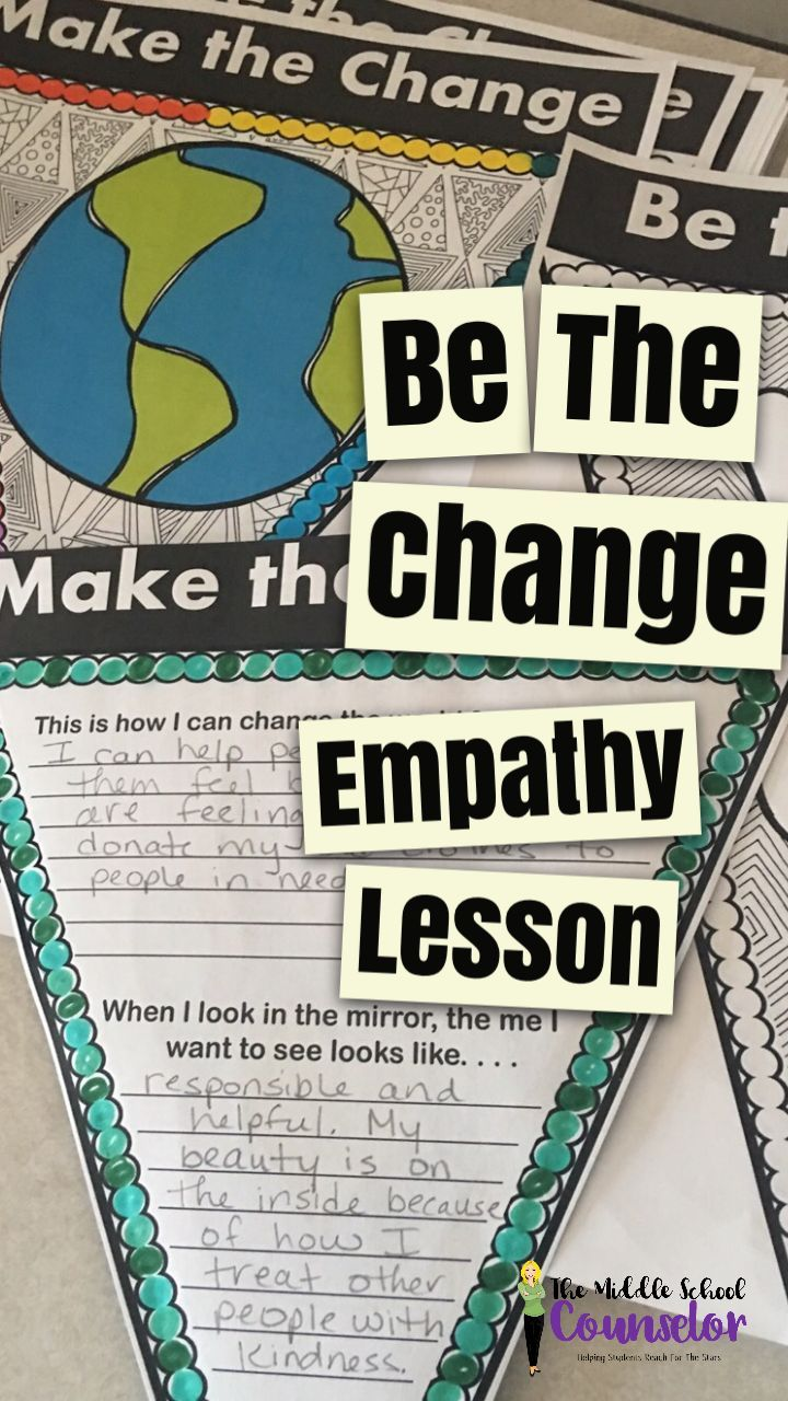 mental health counselor resume%0A Be The Change  Empathy Lesson Pennant Project