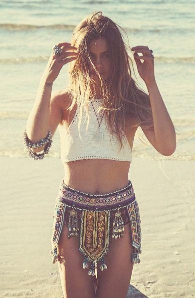 Summer, boho, chic, fashion, style, Ibiza, shorts, tribal, folk,