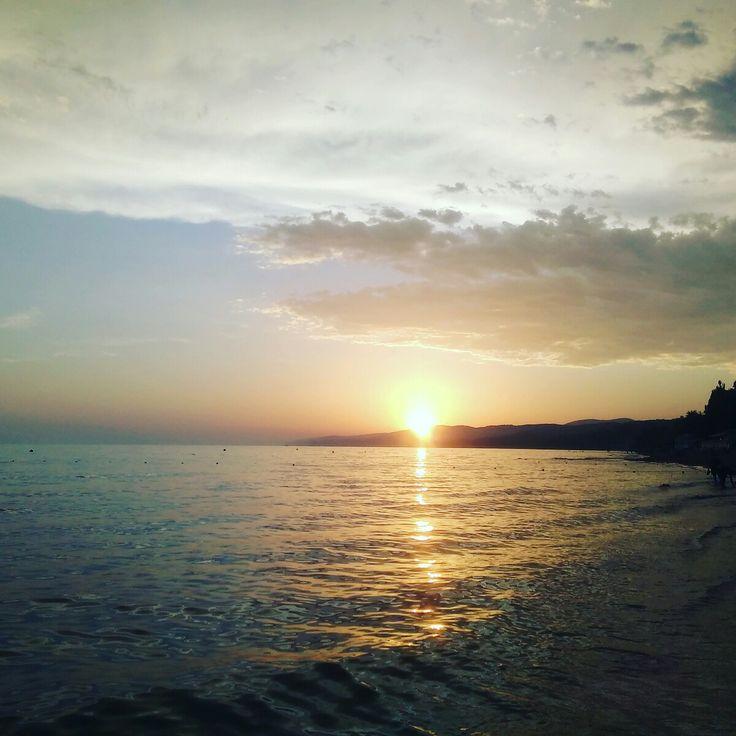 Закат, Черное море