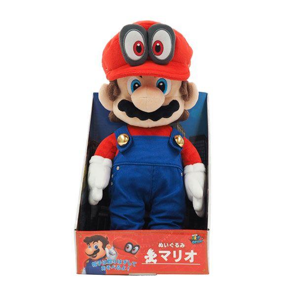 """Doll 5/"""" Super Mario Odyssey Fire Mario Action Figure Toy Super Mario Bros"""