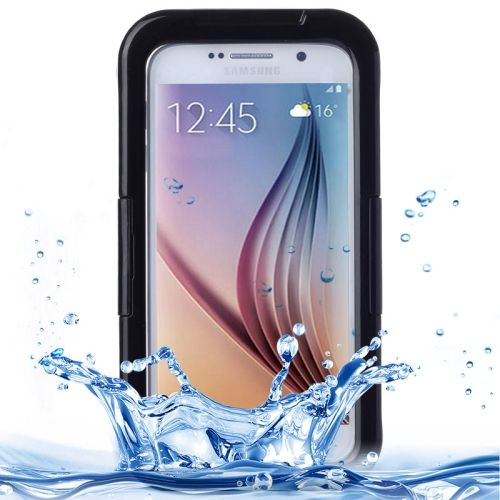 [$4.26] IPX8 Waterproof PVC Case with Touch Responsive Front for Samsung Galaxy S6 / S6 Edge(Black)