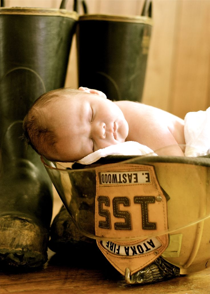 Oh how I can't wait for this. With a fireman mommy and daddy...how could we not put the baby in some firefighter gear. Love. :)