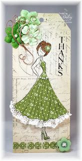 Dragonfly Dreams: Prima paper doll tags