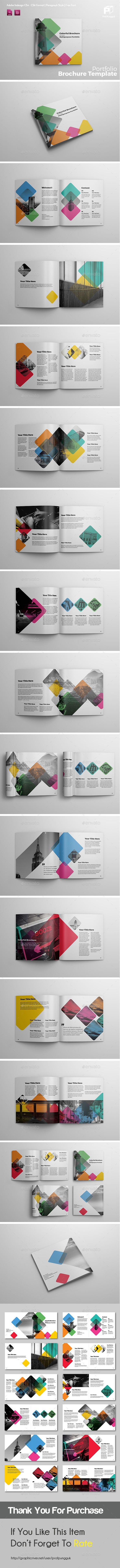 Square Brochure Vol.4 — InDesign INDD #square #products • Download ➝ https://graphicriver.net/item/square-brochure-vol4/19240281?ref=pxcr