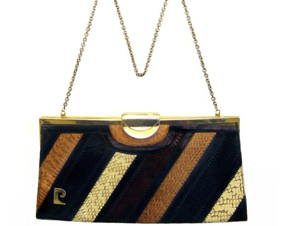 Pierre Cardin Gold And Silver Beaded Monogram Handbag fwhIJ4