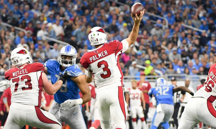 """Carson Palmer says offense changes without David Johnson = Arizona Cardinals quarterback Carson Palmer said that the team's offense will change """"drastically"""" in the absence of injured running back David Johnson, according to Josh Weinfuss of ESPN. """"It cha https://www.fanprint.com/licenses/arizona-cardinals?ref=5750"""