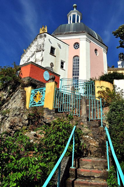 Portmeirion, North Wales ~ photo via Flickr