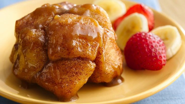 Now you can enjoy monkey bread in a cute, individual serving.  Big flavor in a small size!
