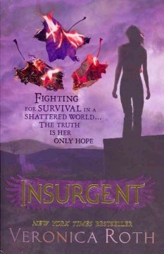 As war surges in the dystopian society around her, 16-year-old  Divergent Tris Prior must continue trying to save those she loves  - and herself - while grappling with haunting questions of grief  and forgiveness, identity and loyalty, politics and love. Much  awaited sequel to Divergent.