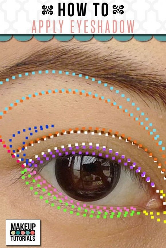 15 Must-see Eyeshadow Steps Pins