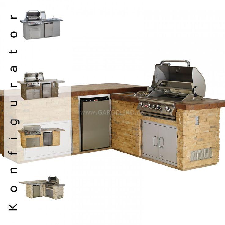 Bull Outdoorküche individuell fertigen lassen bei Gardelino.de // individual outdoor kitchen with Bull BBQ @ www.gardelino.de