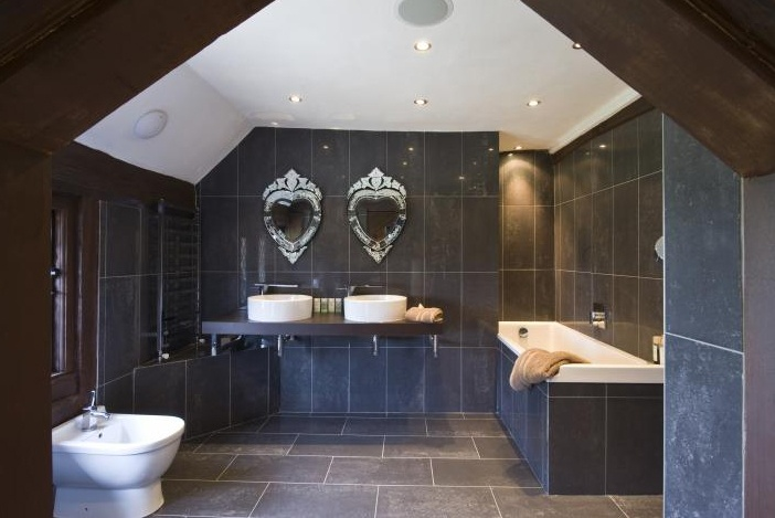 Bathrooms in pale blue and white panda s house - 1000 Images About Bathrooms On Pinterest Vanities Old