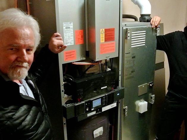 Familie in Kaufungen spart mit Brennstoffzellen-Heizung Energie und Geld