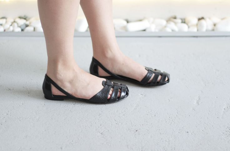 Julia - Black - FREE SHIPPING Handmade Leather Shoes by Keymandesign on Etsy