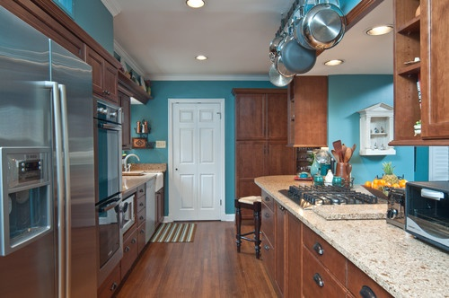 Kitchens, Kitchens Ideas, Painting Colors, Wall Design, Teal Kitchens
