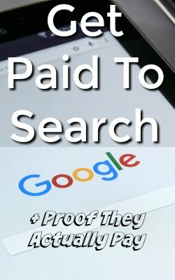 Learn How You Can Get Paid To Search Google, Other Search Engines, and Major Retailers like Amazon! Get Paid Via PayPal with no Minimum Cash Out Amount!