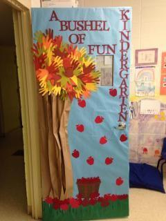 Apple / Fall classroom door decorations