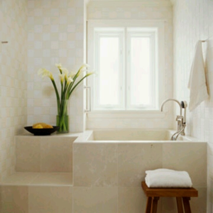 Small deep tub home pinterest for Small but deep bathtubs