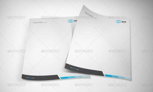 Corporate Letterhead Template