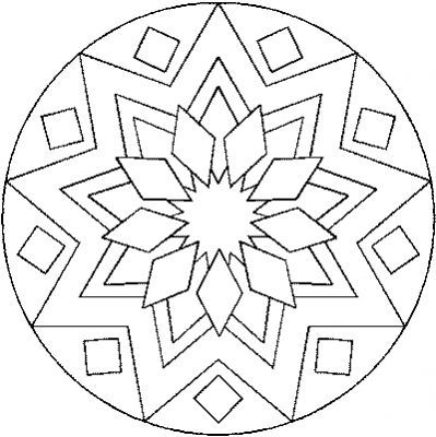 coloriage / mandala