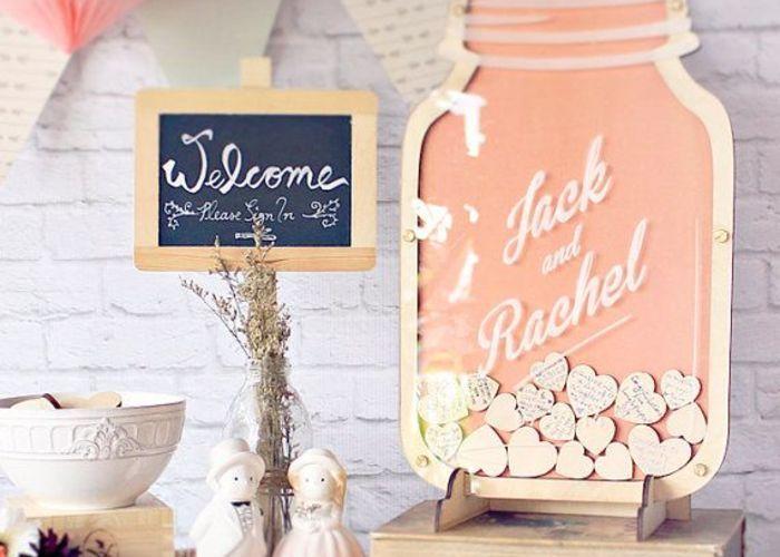 一生の宝物♡結婚式で可愛い『ゲストブック』の作り方*