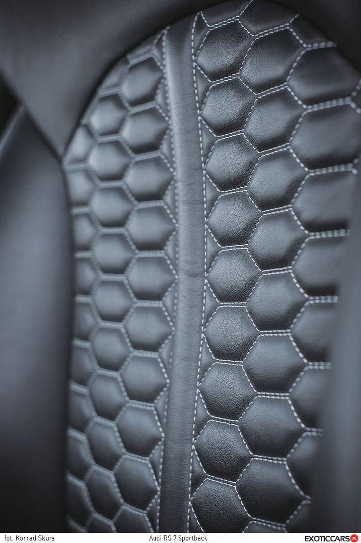 Audi RS7 seat http://exoticcars.pl/testy/audi-rs-7-sportback/