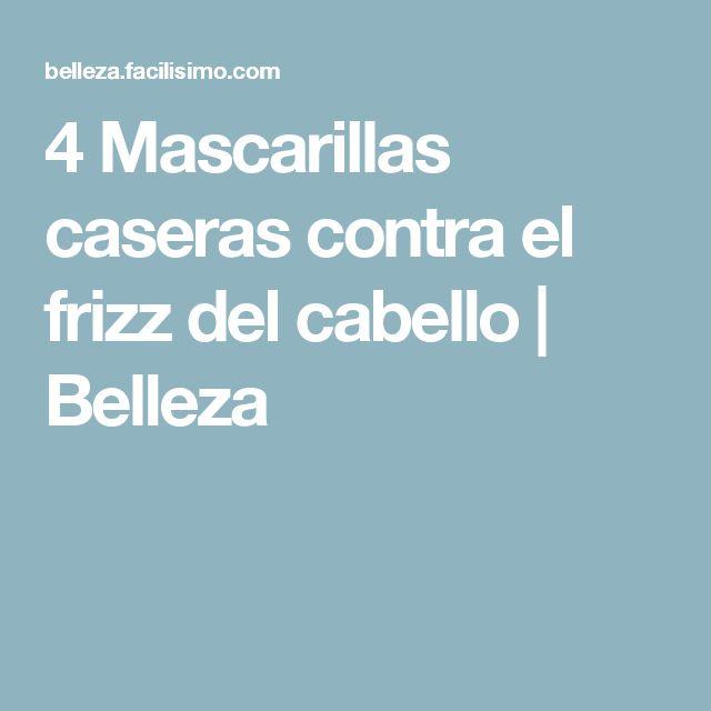 4 Mascarillas caseras contra el frizz del cabello | Belleza