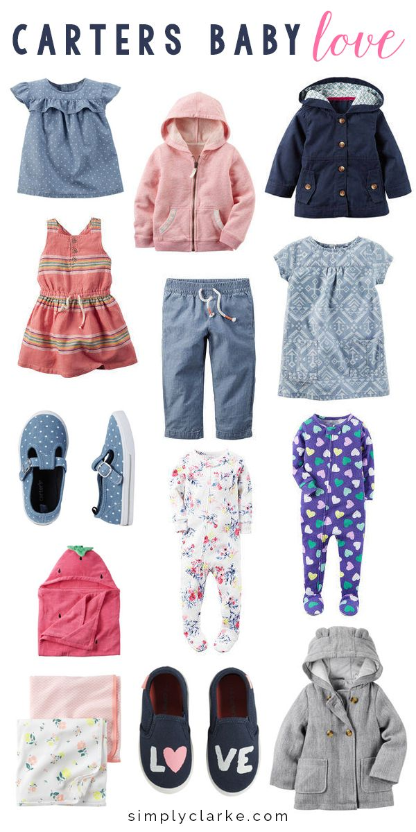 As a mom, one of my favorite stores for baby clothes is Carter's. Check out some of their fall pieces I am loving! #LoveCarters #ad