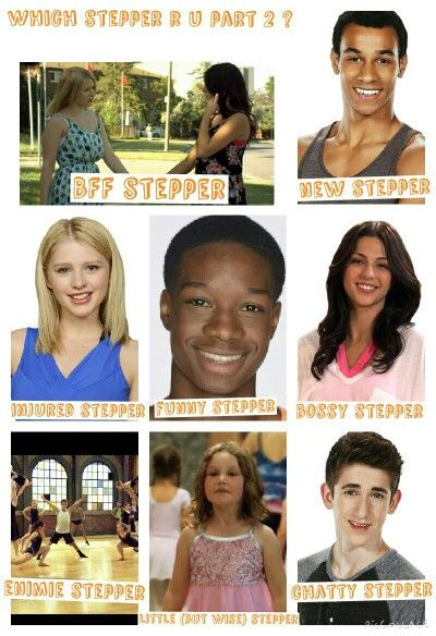 Which stepper r u part 2 ? Wether your new to something like max or if you r sooo chatty like noah .please leave a comment in the ' add a comment' box and say which stepper u r