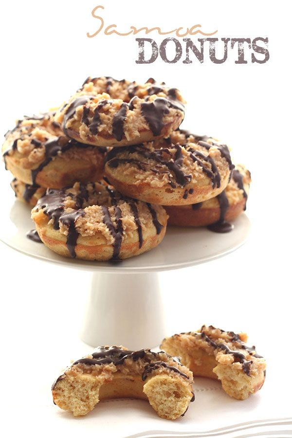 Love Girl Scout cookies? You will adore these low carb Samoa donuts, topped with sugar-free coconut caramel and chocolate. And enter to win an amazing collection of cookbooks! Have you counted how ...
