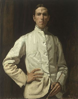 Hugh Ramsay, Self Portrait (from Hunters & Gatherers at Home: Our Winter Whites)