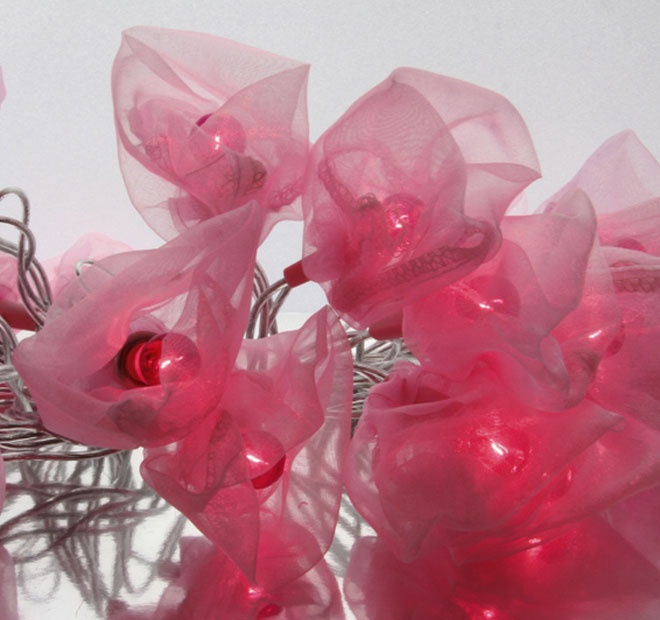 Rouge Living String Lighting Organza Bag Pink