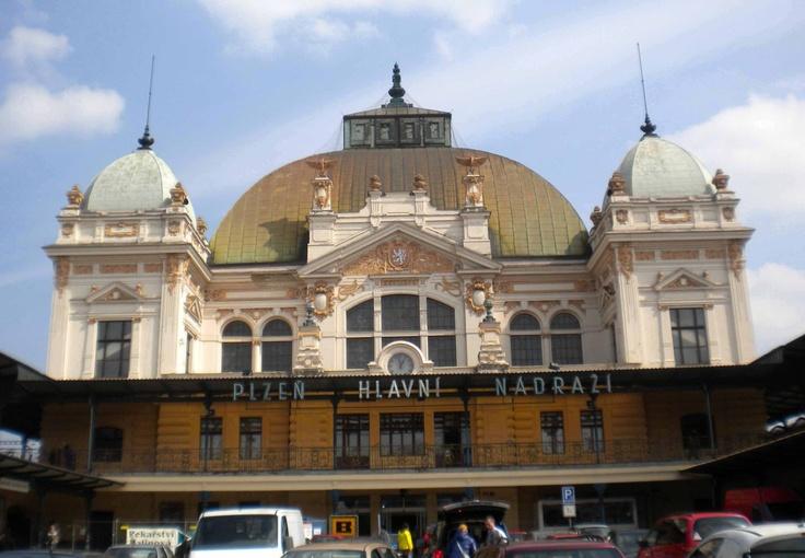 Estación central de Pilsen