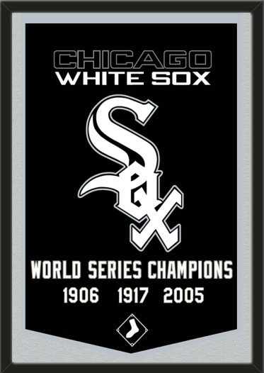 239 best chicago white sox images on pinterest chicago white sox this chicago white sox dynasty banner framed to 26 x 38 inches 19999 artandmore sciox Choice Image