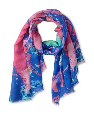 72% OFF Micky London Women's Poseidon Scarf, Multi
