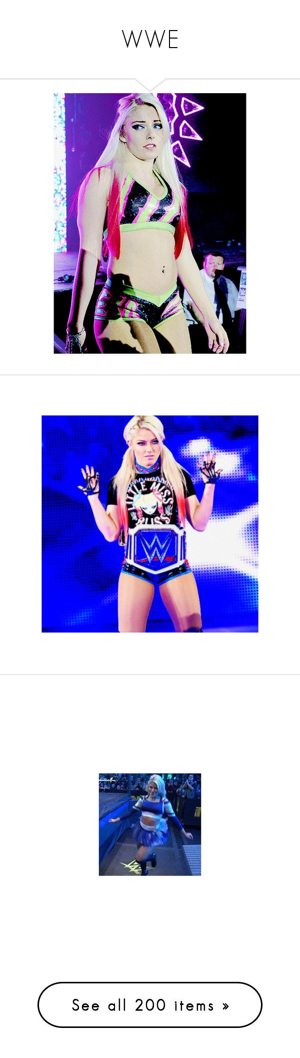 """WWE"" by fairy-unicornbaby ❤ liked on Polyvore featuring jewelry, rings, wwe, watches, ring attire, divas, kelly kelly, wrestling, home and home decor"