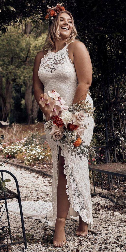 15 Lace Plus Size Wedding Dresses