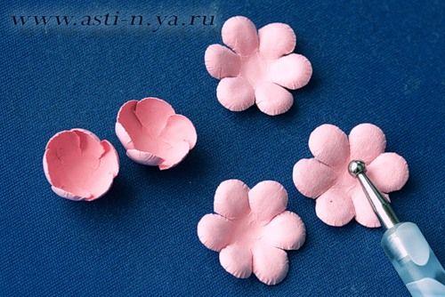 Бумажные розы и не только, без фигурных компостеров. - ASTORIA— я.ру