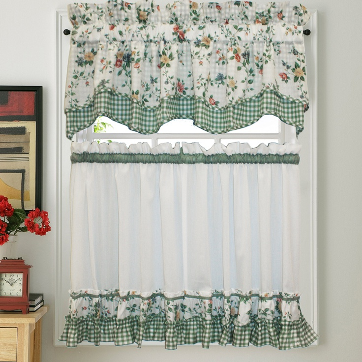 Country Cottage Kitchen Curtains: 17 Best Images About Cottage Curtains On Pinterest