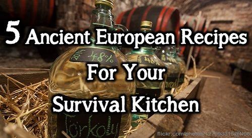5 Ancient European Recipes For Your Survival Kitchen Bio Prepper