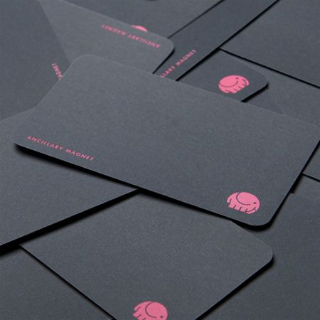 Rounded Corner Business Cards: 40 Modern Designs