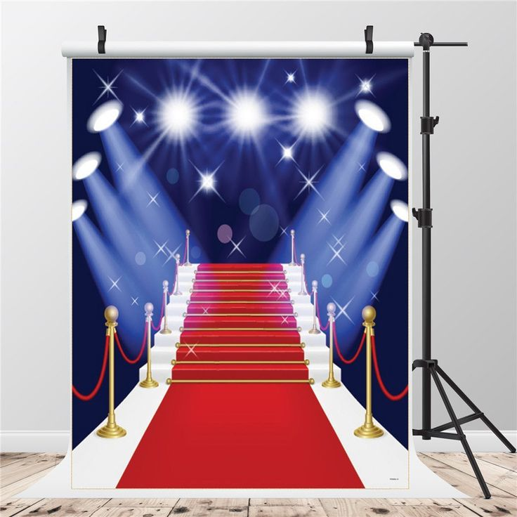 how to make a red carpet backdrop