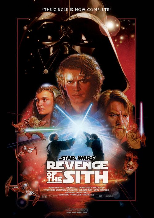 Watch Star Wars: Episode III - Revenge of the Sith (2005) Full Movie Online Free