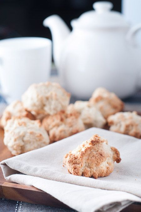 This pinch cookie recipe is perfect with coffee or tea. It's crunchy on the outside, tender inside and not overly sweet. A perfect tea biscuit substitute.
