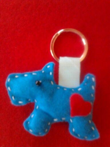 Mπρελοκ scottie dog